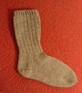 Grey January Socks