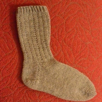 Grey January Socks