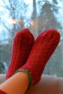 """The """"Little Miss Summer"""" socks"""