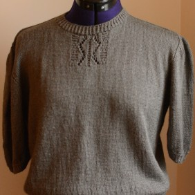 ...and a finished Vintage jumper