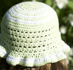 Summerhat, crochet