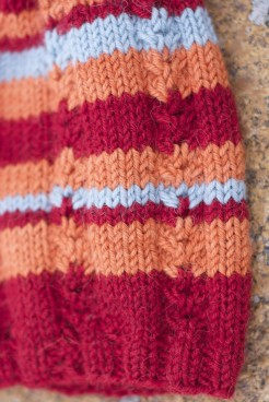 Summer hat, detail