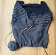 Knitted top-down