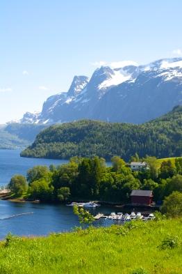 Førdefjorden, June 2015
