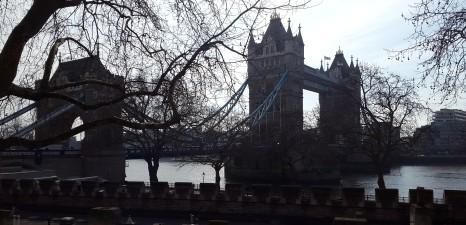 London in February