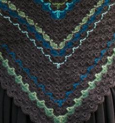 The scallop-like pattern