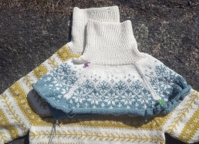 The second skiing sweater