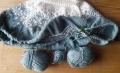 Knitting a sweater on a single set of needles!